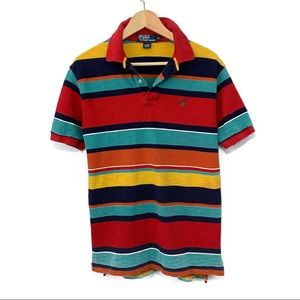 Men's Multi Colored Polo by Ralph Lauren Shirt